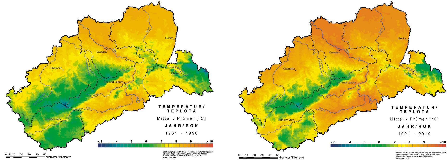 Temperatur Sachsen
